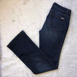 Whbm the slim boot cut jeans size 4